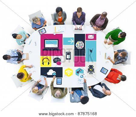 Computer Cloud Computing Storage Media Digital Concept