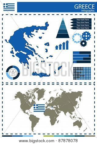 Vector Greece Illustration Country Nation National Culture Concept