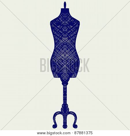 Tailor's mannequin