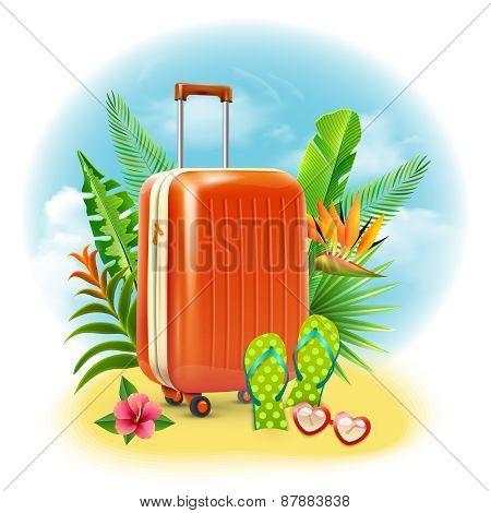 Travel Suitcase Design