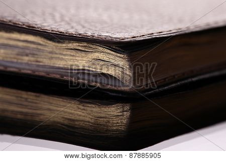 Old Book With Reflection