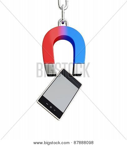 Magnet Mobile Phone Horseshoe