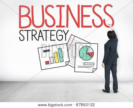 Business Strategy Data Planning Concept