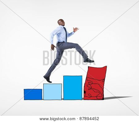 Businessman and Risk Concepts