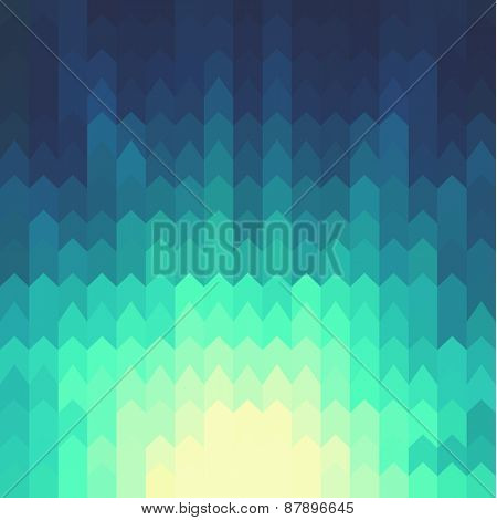 Shiny background with geometric pattern  - raster version