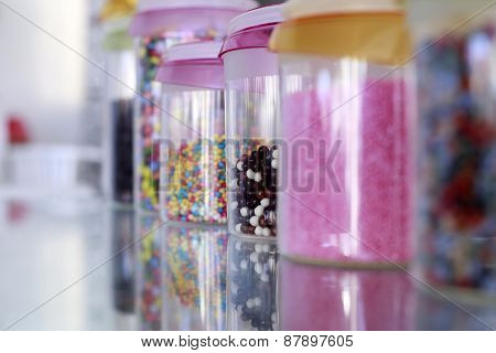 Colorful Small Sweets