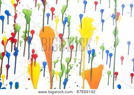Splashes Of Color
