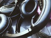 picture of work crew  - Headphones for Sound Recorder - JPG
