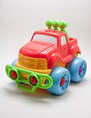 picture of  jeep  - toy jeep car on a white background - JPG