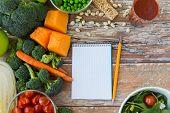stock photo of vegetarian meal  - healthy eating - JPG