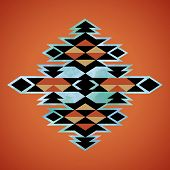 pic of indian  - Navajo aztec textile inspiration pattern - JPG
