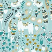 picture of bohemian  - A fun woodland pattern with deer - JPG