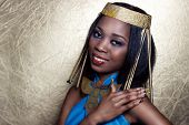 pic of cleopatra  - beautiful dark - JPG
