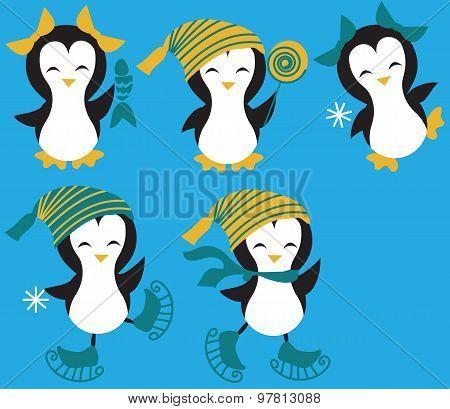 Set of Penguins