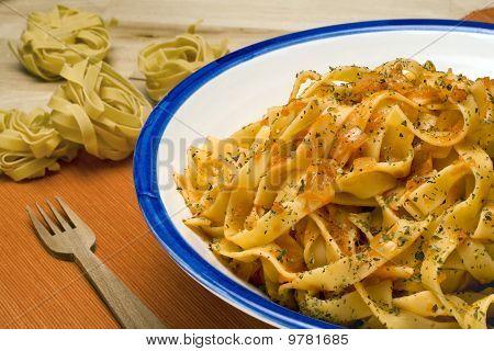 Fettuccini Pomodoro.
