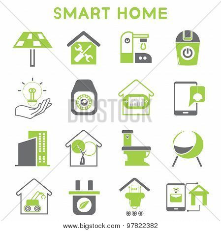 smart home icons