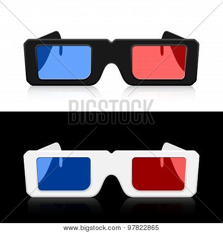 Vector 3D Glasses