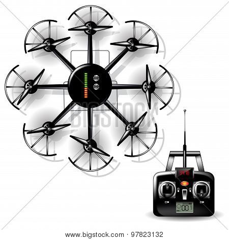 Multirotor Helicopter With Camera