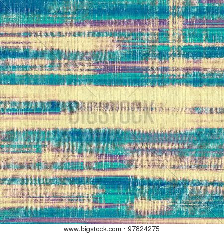 Art grunge vintage textured background. With different color patterns: yellow (beige); purple (violet); blue; cyan