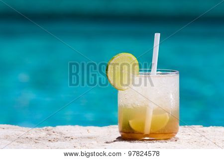 Glass Of Caipirinha