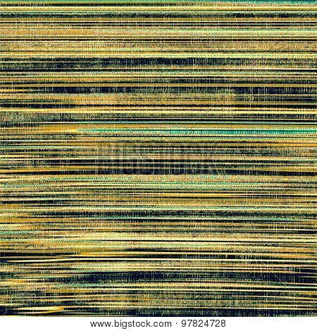 Textured old pattern as background. With different color patterns: yellow (beige); brown; blue; black
