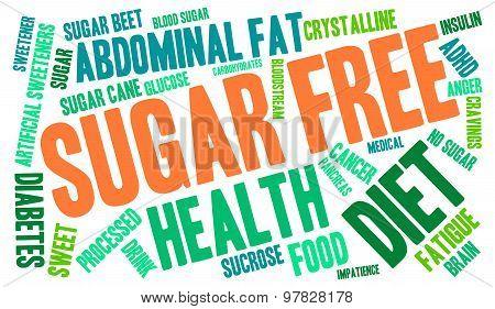 Sugar Free Word Cloud