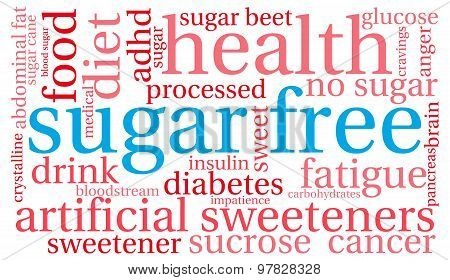 Sugar Free Word Cloud