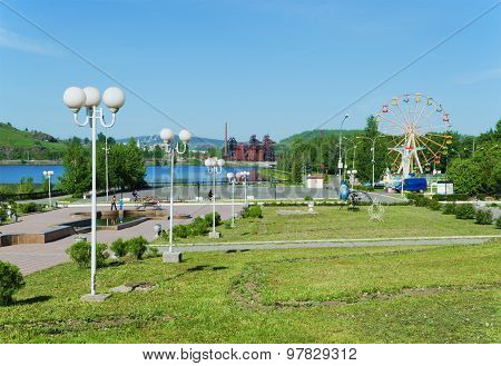 Sights Of The City Of Nizhny Tagil