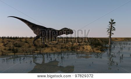 majungasaurus hunting