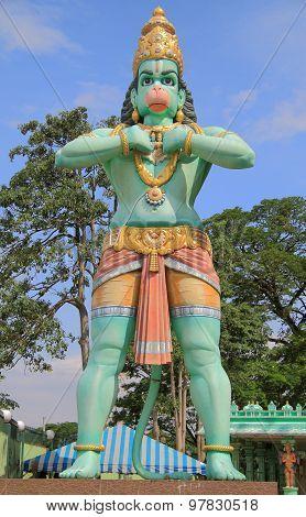 statue of Hanuman nearly Batu caves