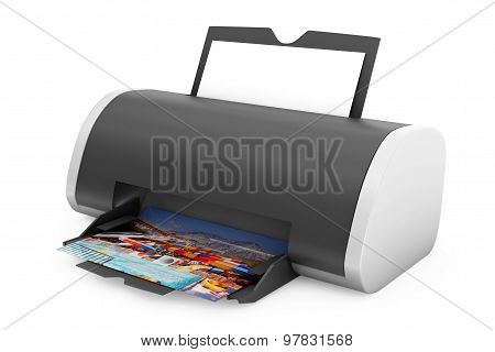 Printer Print Of Photos