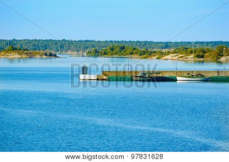 Pier In Archipelago
