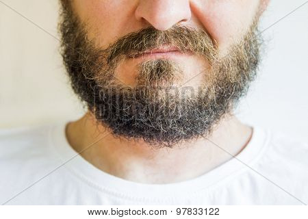 Man with beard and mustaches
