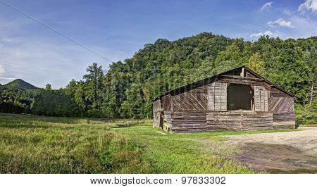 Caldwell Barn, Cataloochee Valley, Great Smoky Mountains National Park