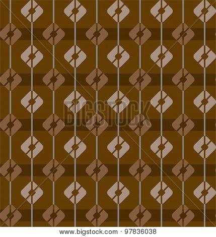 Brown, Seamless Pattern, Squa...