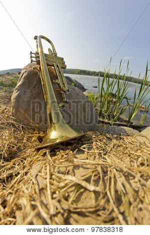 Trumpet Lake Fisheye