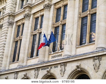 Sorbonne University In Paris France