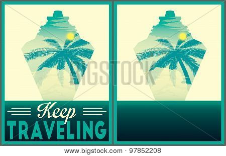 Keep Traveling Poster Collection