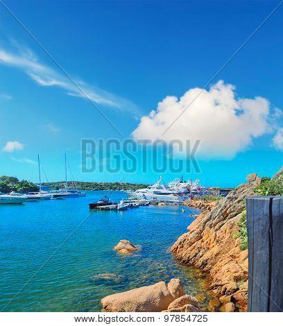 Yachts In Porto Cervo