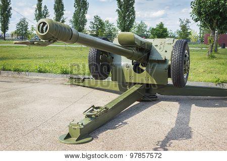 Soviet Howitzer D-30, 122 Mm