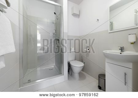 Small And Compact Bathroom