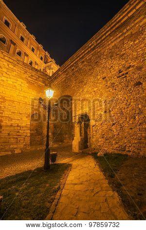 Walls of Buda Castle (Budapest, Hungary)