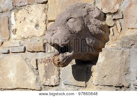 Lion Bas-relief In Bulgaria