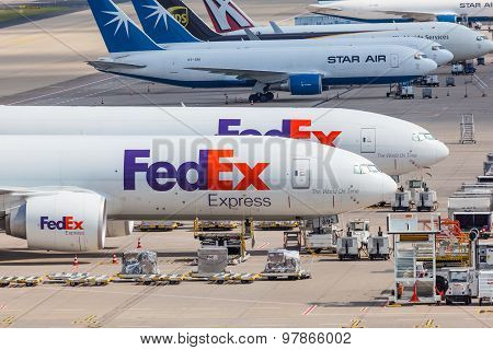 Fedex Express Airplanes