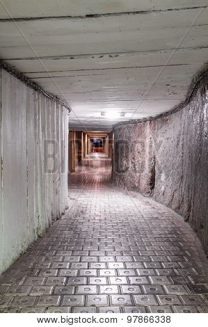 Underground Mine Tunnel
