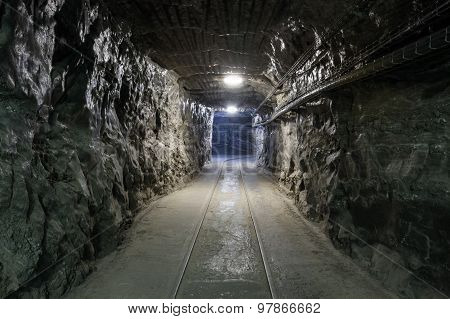 Underground Mine Tunnel