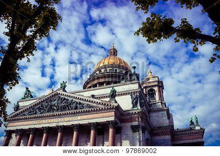 Saint Isaac Cathedral in Saint Petersburg