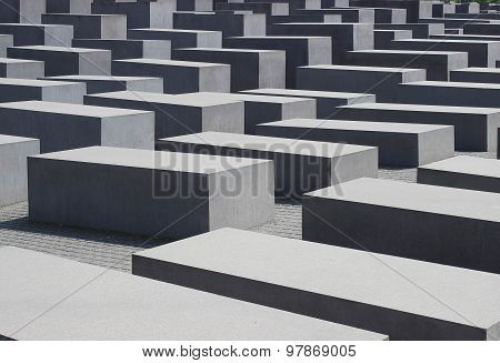 Memorial To The Murdered Jews Of Europe