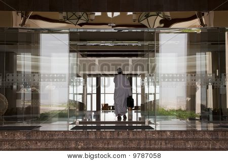 Entrance To The Arabic Hotel