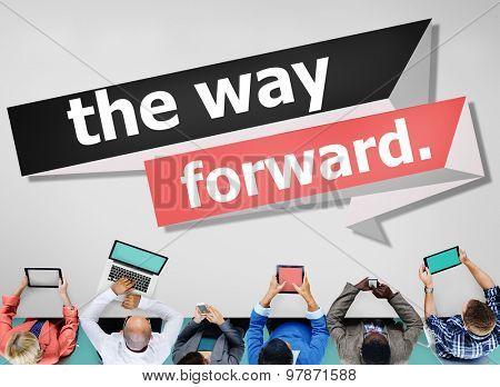 The Way Forward Development Aspiration Goal Concept